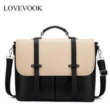 Lovevook delle donne borse per notebook per 15.6 pollici borse ufficio per le signore di lusso borse di crossbody del sacchetto di spalla per il lavoro/scuola satchel