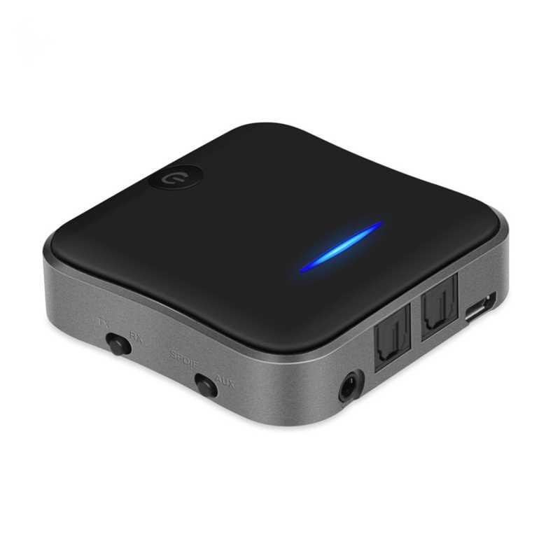 Słuchawki bezprzewodowe Bluetooth 5.0 nadajnik-odbiornik APTX HD LL Bt AUX Jack/SPDIF/RCA Audio muzyka dla TV PC