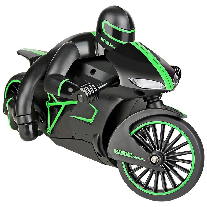 FBIL-2.4G Mini Rc Motorcycle With Cool Light High Speed Rc Motorbike Model Toys Remote Control Drift Motor Best Gift For Childre