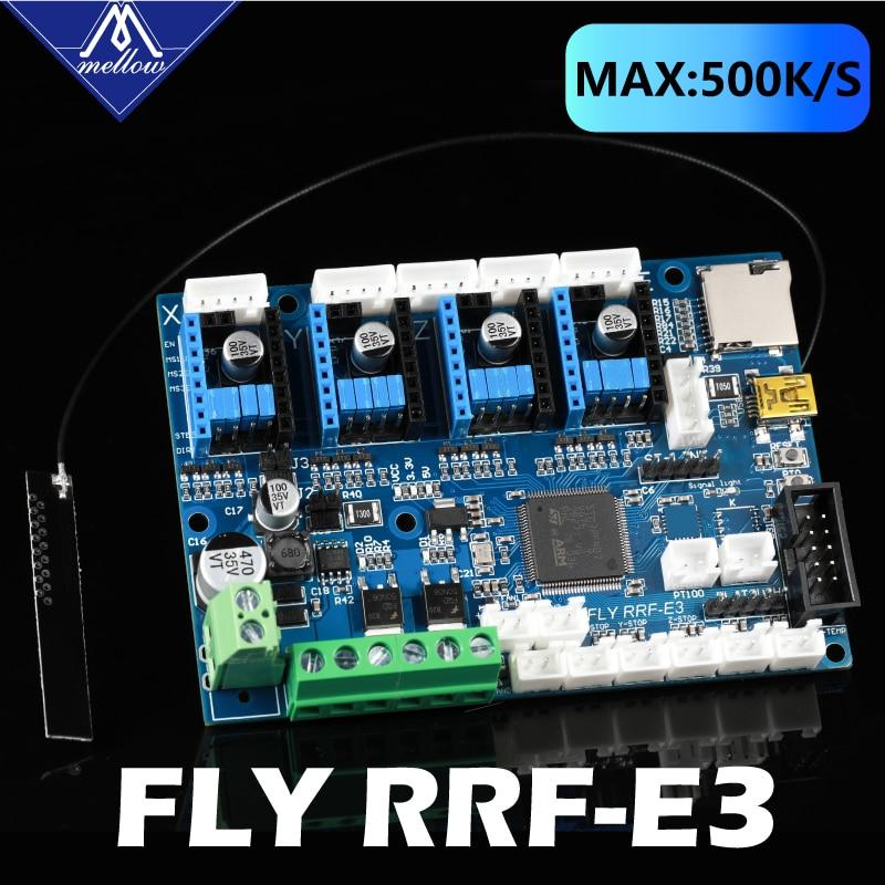 2021 плата управления Mellow FLY RRF E3 V1.0 Wifi 32 бит, прошивка Reprap, поддержка TMC2209 UART, детали для 3D принтера Ender 3/5 Pro