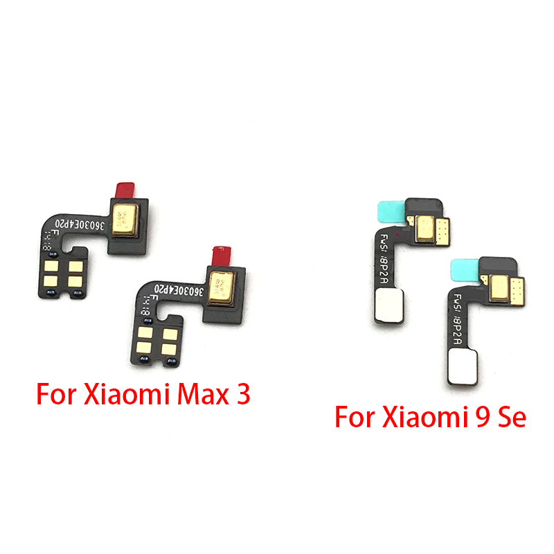 New Microphone Flex Cable Mic Connector For Xiaomi Mi 9 Se 9se / Mi Max 3 Replacement Spare Parts