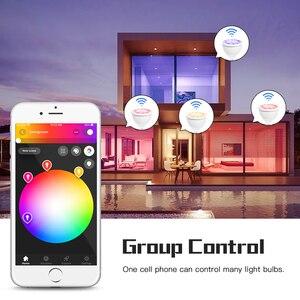Image 2 - GLED0PTO زيجبي Mr16 led الأضواء 4 واط RGB/CCT LED لمبة DC12V العمل مع smartthins زيجبي محور صدى زائد هاتف ذكي التحكم في الضوء