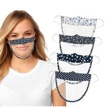 Nouveau masque facial Transparent visuel adulte protecteur visage bouclier Anti-buée Anti-éclaboussures Anti gouttelette masque de protection réutilisable lavable