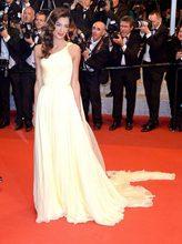 Платье на Одно Плечо в стиле Звезд желтое платье трапеция из