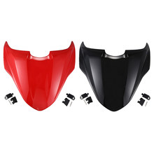 Motorcycle Rear Passenger Pillion Seat Cover Hard Seat Cowl Hump for Ducati Monster 821 2014 2015 2016 2017(China)