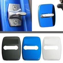 For BMW Door Lock Cover 1 2 3 4 5 7 Series X1 X2 X3 X4 X5 X6 F30 F10 F15 F16 F34 F07 F01 F15 F16 Car Metal Door Lock Cover цена 2017