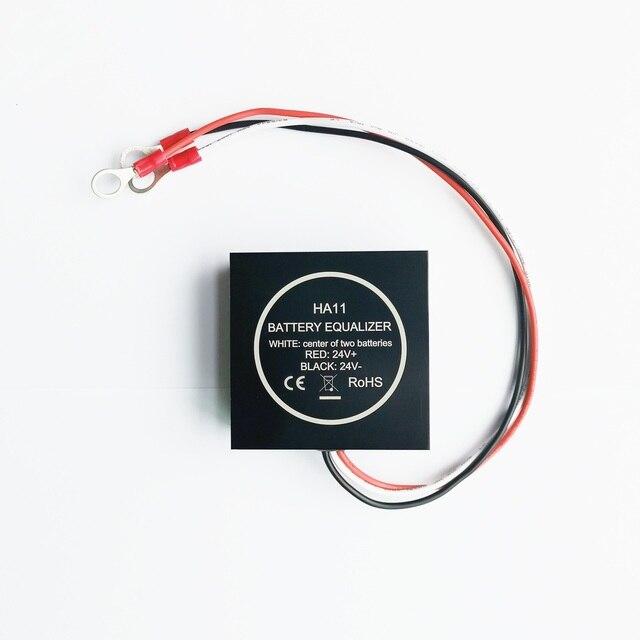 ECUALIZADOR DE batería de 24V, balanceador, HA11, puede mostrar voltaje vía teléfono móvil para batería de plomo y ácido de 12V conectada en serie