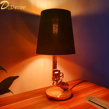 Modern Table lamp Bedroom Bedside Decoration Table light Living Room Reading Lights Indoor Decorative Lighting Table lamps