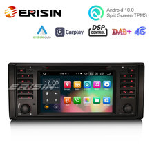 Erisin 8139 7 Zoll Android 10,0 Auto Multimedia System Apple CarPlay Auto DVD GPS TPMS DVR DAB + DSP für BMW E39 E53