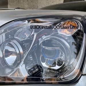 Image 5 - LK3เลเซอร์Bi Ledโปรเจคเตอร์เลนส์5000Kไฟหน้าโปรเจคเตอร์LEDสำหรับรถ