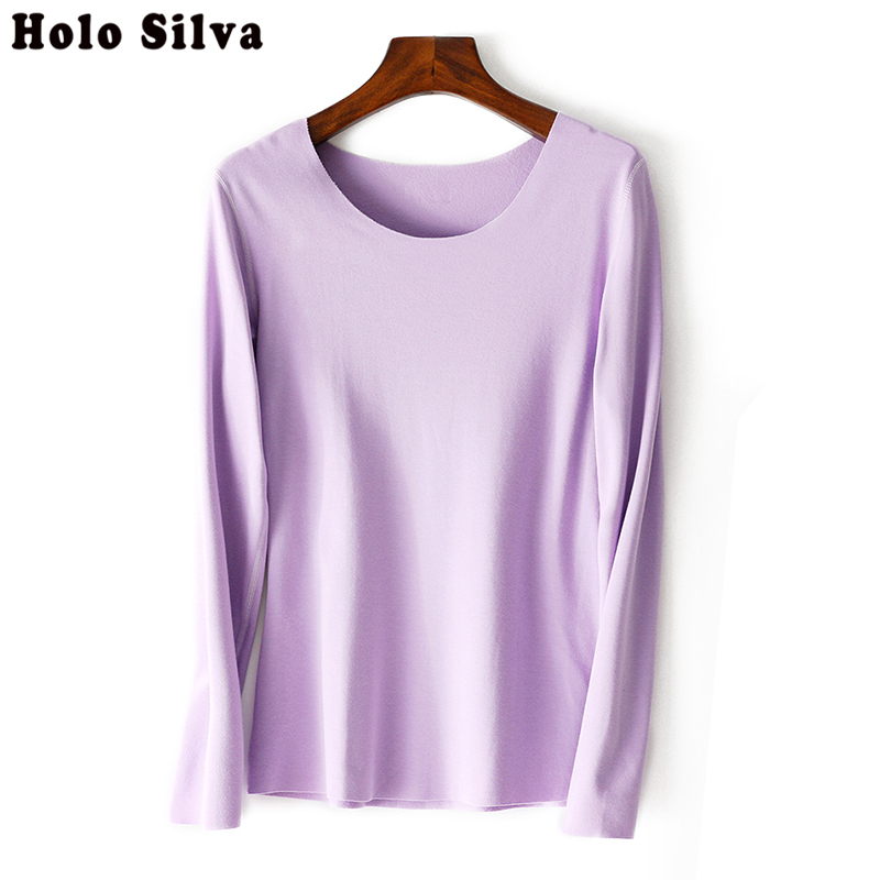 High Quality Pure Color Autumn Winter 2019 NEW European Style Women Fashion Outwear Pullovers Knitted Cashmere Sweater For Women