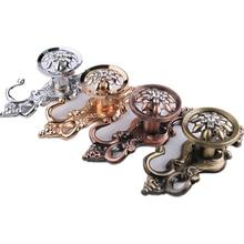 lovers kiss zinc alloy keychain silver pair 1 Pair European Style Vintage Metal Zinc Alloy Wall Hooks Window Curtain Tiebacks Holders Home Decor
