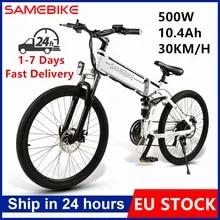 Electric Bicycle Motor Mtb Bike 10ah-Battery Eu-Stock 26inch 500W 21-Speed 48V LO26 Tire