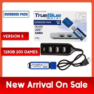 Image 1 - 203 Games True Blue Mini Overdose Pack for PlayStation Classic (128GB) Accessories 2019 Preorder Sales Hot 2 player games