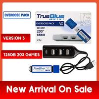 203 Games True Blue Mini Overdose Pack for PlayStation Classic (128GB) Accessories 2019 Preorder Sales Hot 2 player games