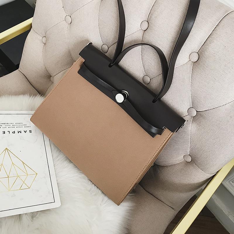 Bag Women's 2019 New Style Fashion Europe And America Kelly Bag PU Handbag Bags Shoulder Bag Women's