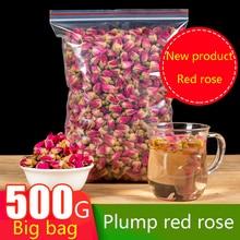 цена на Natural dried pink rose buds flower tea rose buds organic 100g/300/500 pack girl women gift wedding decoration