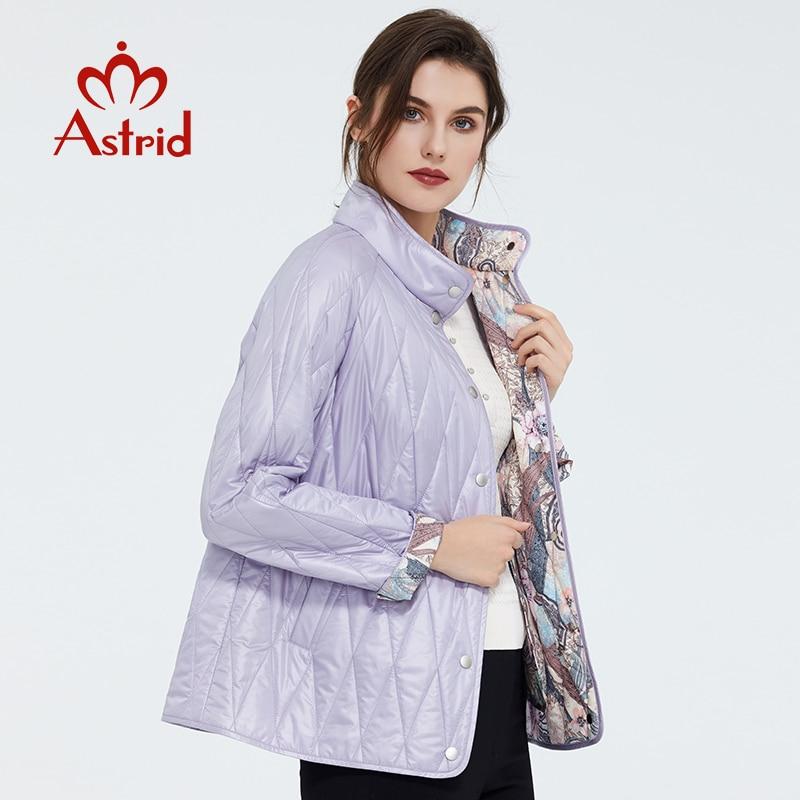 Astrid 2020 nueva moda de primavera abrigo corto para mujer cuello alto prendas de vestir femeninas de alta calidad tendencia urbana chaqueta delgada ZM-9423 - 2