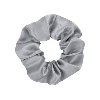 3.9 inch Women Silk Scrunchie Elastic Handmade Multicolor  Hair Band Ponytail Holder Headband Hair Accessories 40