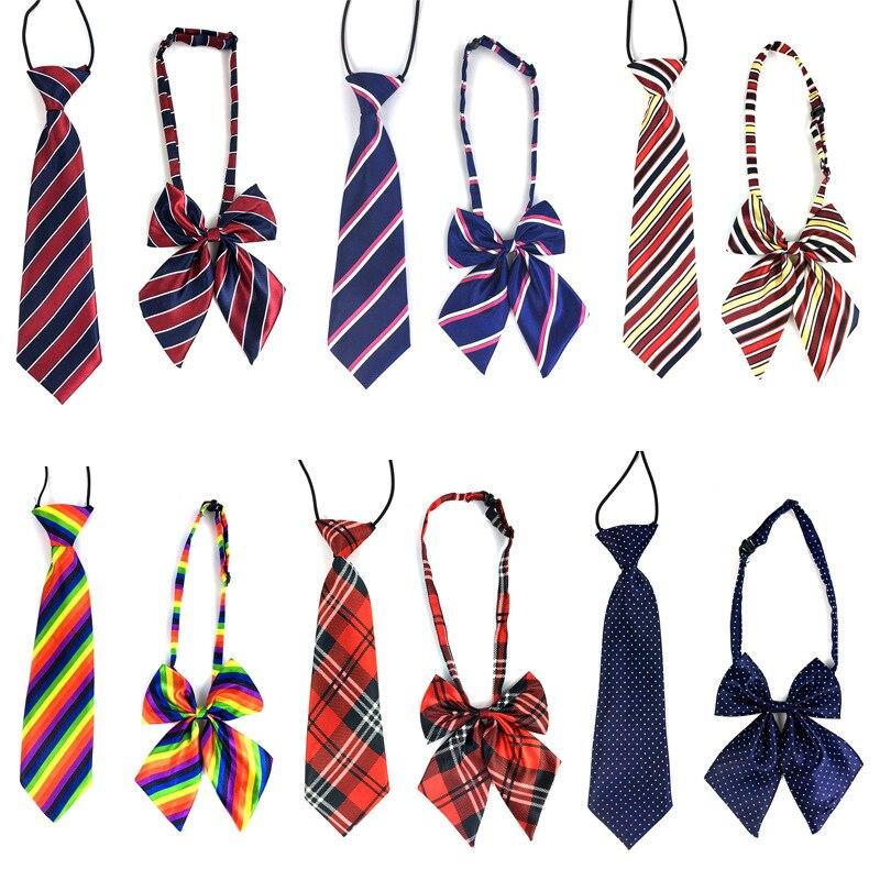 2 teile/satz Haustier Hund Pflege Zubehör Band Großen Krawatte Fliege Für Medium Large Dog Einstellbare Hund Kragen Krawatte Bowties