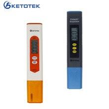 New Pen Type PH meter TDS EC Meter Temperature Meter Digital LCD Water Testing Tools Portable PPM Water Quality Detector