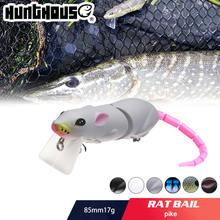 Жесткие рыболовные приманки hunthouse приманка для крысы искусственная