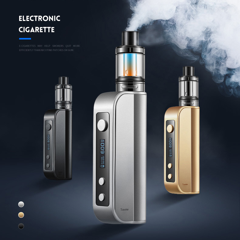 ET50 Kit Electronic Cigarette Kit New ECT Traveler 50W Box Cigarette High Power Big Smoke