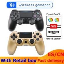 2020 juego de Bluetooth inalámbrico para PS4 Joystick para Playstation Dualshock 4 Gamepad para mando ps4 consola PS4 Gamepads