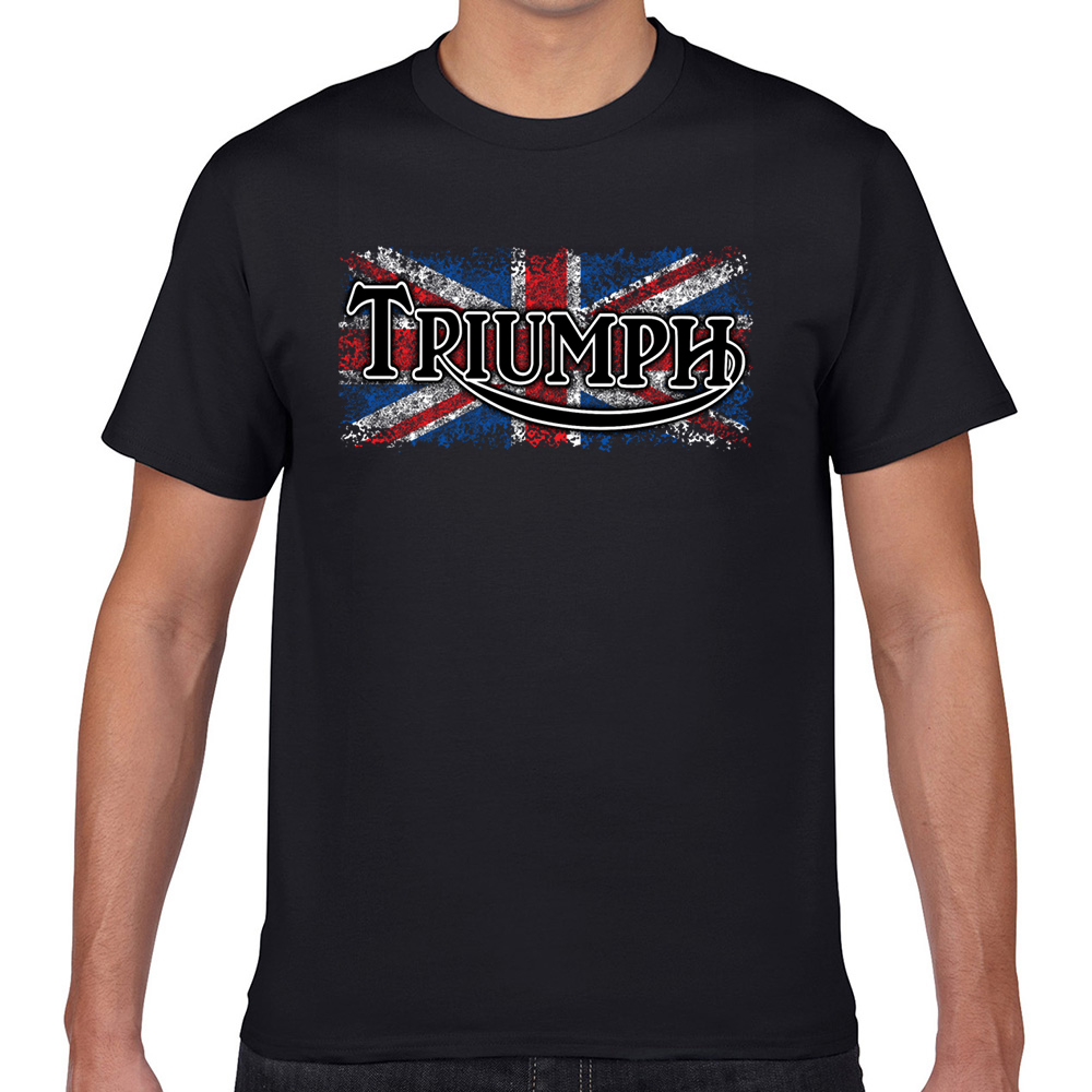 Tops T-shirt Mannen Triumph Autonautcom Fit Inscripties Geek Korte Mannelijke T-shirt Xxxl