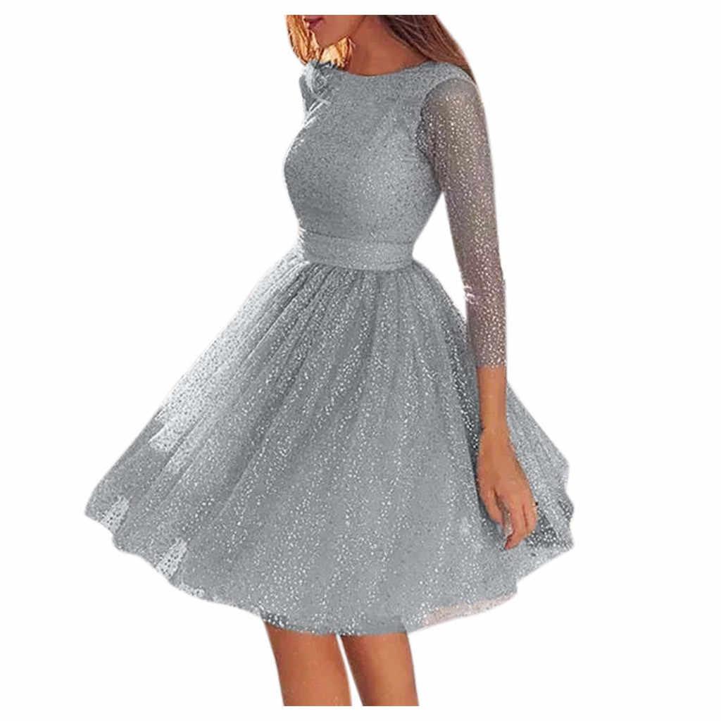 נשים שמלות נשים קלע צלב חתונה O-צוואר אלגנטי מסיבת ערב Slim הולו תחרה שמלת платье женское vestidos