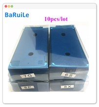 BaRuiLe 10 adet su geçirmez 3M yapıştırıcı iPhone 12 Pro Max 12Pro 12 P 12PM Sticker LCD ekran çerçeve bant onarım parçaları