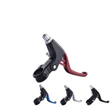 Coolride 2pcs Alloy Motorcycle Brake Handle CNC Clutch Lever High Quality Fit for Motorbike Modification