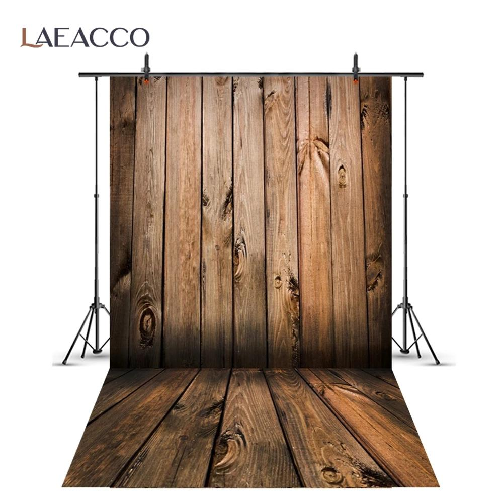 Laeacco Wood Background Photography Plank Board Texture Cake Food Baby Portrait Photographic Backdrop Photocall Photo Studio