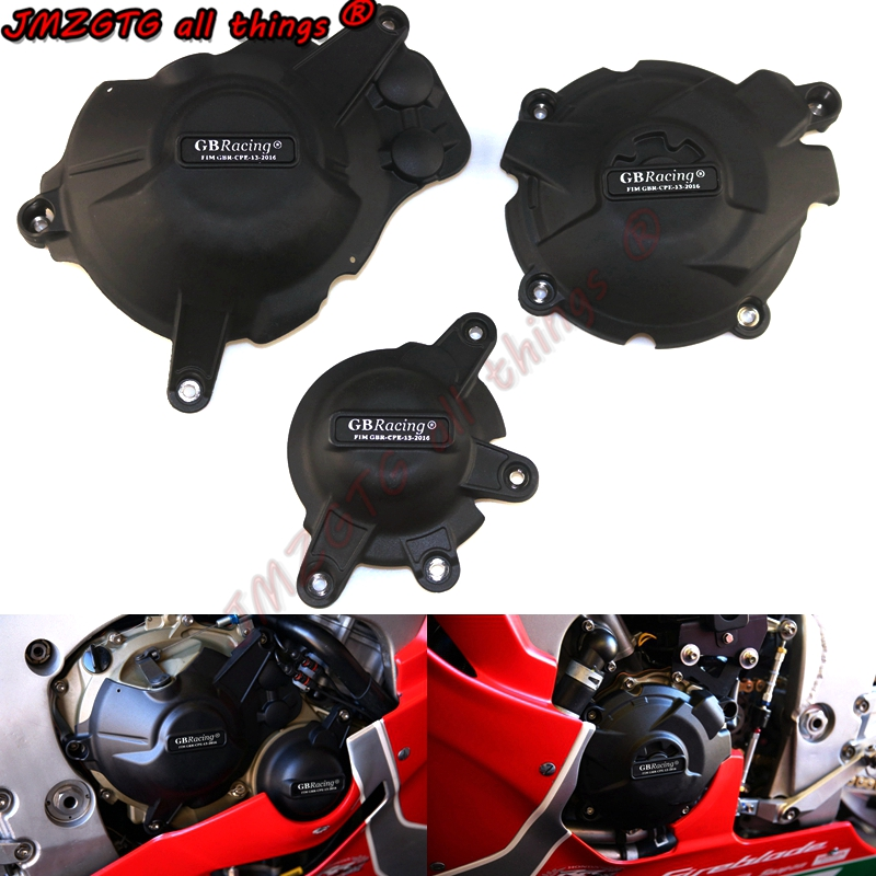 Motorcycles Engine cover Protection case for case GB Racing For HONDA CBR1000RR FIREBLADE SP 2017-2019 Engine Covers Protectors