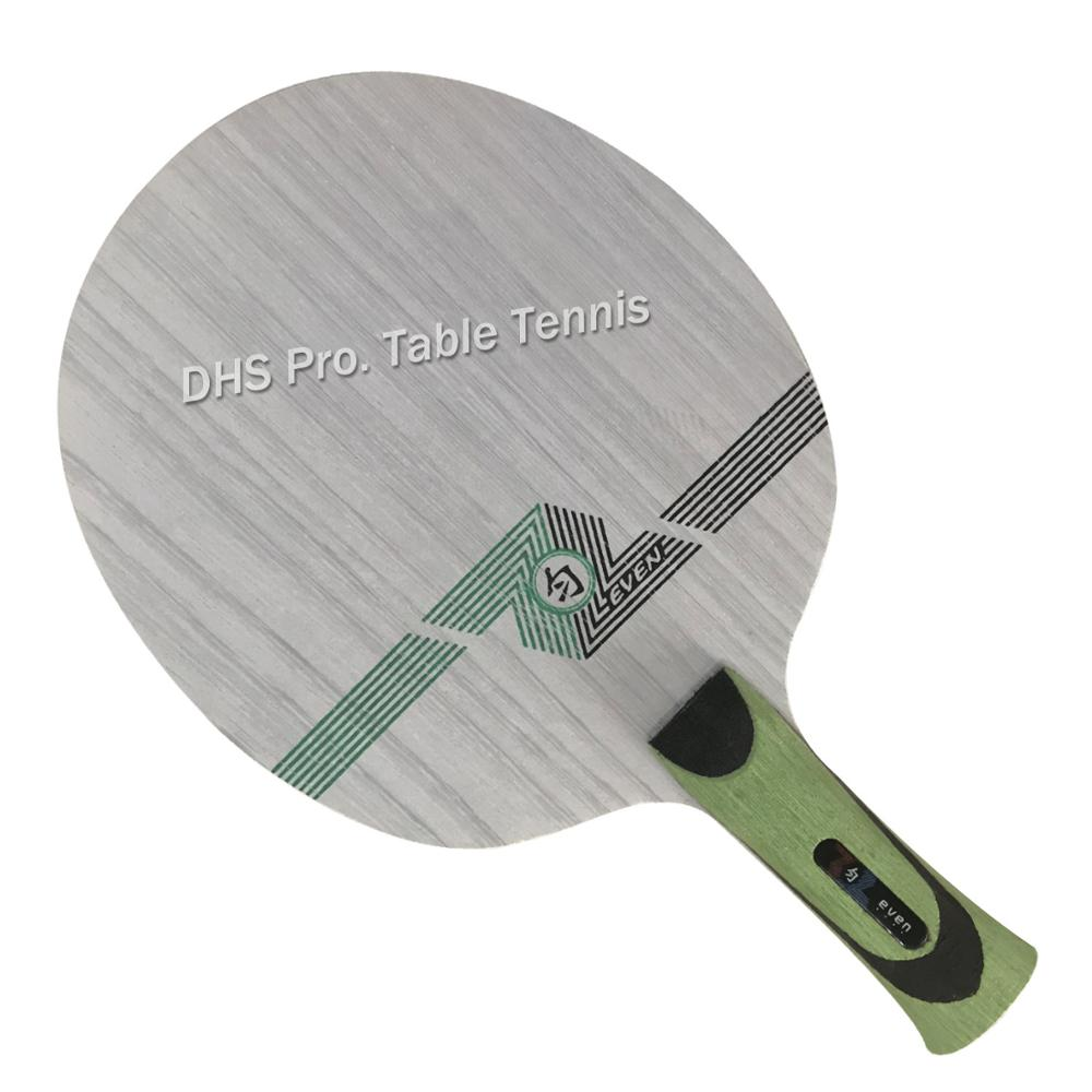 Sanwei GREEN EVEN (QY-1091, 11 Ply Even Wood, Control) Table Tennis Blade For 40+ Racket Ping Pong Bat