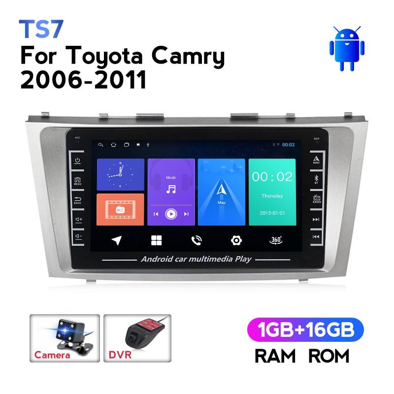 1280*720 Android IPS Für Toyota Camry 6 XV 40 50 2006 - 2011 Auto Radio Multimedia Video Player navigation GPS Keine 2din 2 din dvd