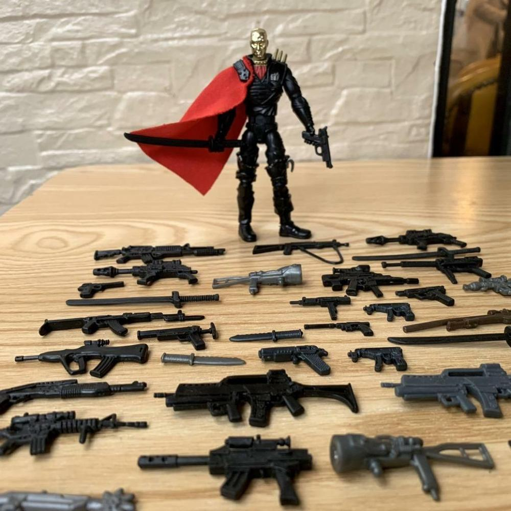 """3.75/"""" Gi Joe  Lanard  the Corps Solider with 20pcs weapons Action Figure"""