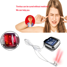 Eldly home use wrist type 650nm laser teratment light healing therapy for ear deaf and Tinnitus