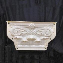 30cm (11 8 cala  średnica wewnętrzna) ABS Multi Pattern trwała kwadratowa betonowa kolumna rzymska części zamienne forma z liśćmi i gwiazdą tłoczenie