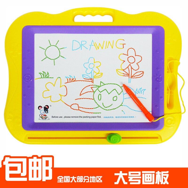 # Children Drawing Board Magnetic Xie Zi Ban Bi Color Kids CHILDREN'S Magnetic Baby Doodle Board 1-3 Years Old Children