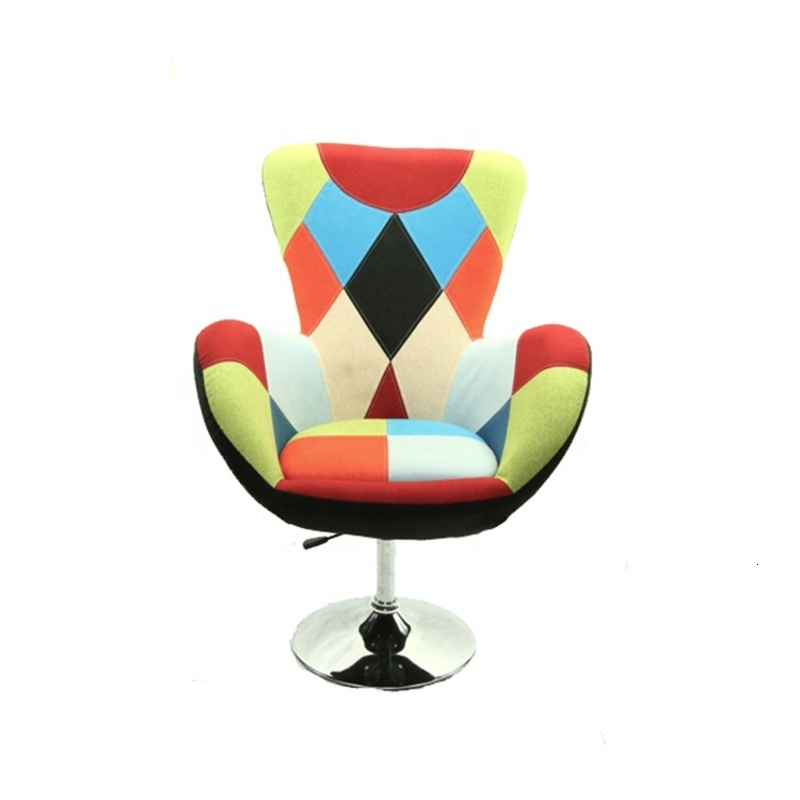Modern Solid Structure Leisure High Back Accent Chair For Living Room