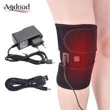 Agdoad関節炎膝サポートブレース赤外線加熱治療ニーパッドリリーフ膝関節痛膝のリハビリドロップシップ