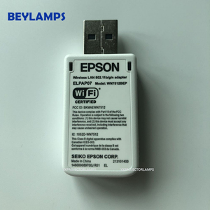 Image 4 - Projectors Wireless For EPSON WIRELESS WIFI USB LAN ADAPTER ELPAP07 V12H418P12 WN7512BEP 802.11B/G/N F/S Fit To Projectors