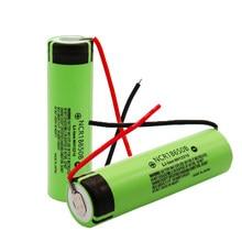 100% nowy oryginalny NCR18650BDIY + 3.7 V/4.2 V do 3400 mAh 18650 akumulator litowy do linii wyjściowej baterii panasonic