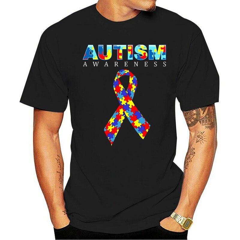 2020 горячая распродажа лето стиль официальный: информации о проблеме аутизма рубашки 2020, аутизм 2020 футболка