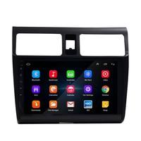2 din rádio do carro 9 Polegada hd carro mp5 multimídia jogador android 8.1 rádio do carro navegação gps wifi bluetooth para suzuki swift 2005 20|GPS p/ veículos|Automóveis e motos -