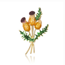 Danrun new drop of oil flower jewelry Korean version popular corsage fashion brooch factory outlet