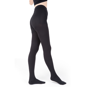 Image 2 - Meias de compressão médica unissex, meias opacas masculinas, melhor suporte 30 40 mmhg meia calça para varizes, viagem, vôo, dedo do pé fechado