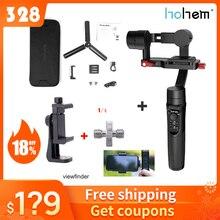 Hohem iSteady 멀티 3 축 핸드 헬드 짐벌 안정기 마이크로 카메라 액션 카메라 스마트 폰 PK Zhiyun 크레인 M2 Feiyu G6 Plus