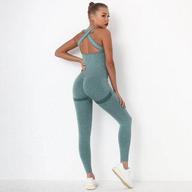 Macacão Fitness Sem Costura Feminino 11